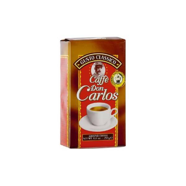 Кофе молотый Carraro Don Carlos 250 г